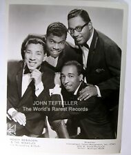 ORIGINAL 1960's 8x10 Publicity Photo Smokey Robinson & The Miracles Soul