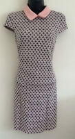 NEW LOOK Size: 8-16 Diamond Abstract Print Smart Work Panelled Shift Dress