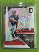 TOM BRADY REFRACTOR JERSEY #12 PATRIOTS SP PRIZM 2018 Unparalleled Football #126