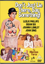 Don't Just Lie There, Say Something DVD (2016) Brian Rix ***NEW***