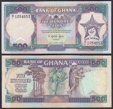 Ghana 500 Cedis Banknote 1989 Pick 28b VF (3)  (25200