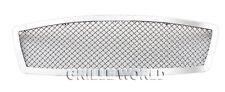 For 2003-2005 Infiniti FX35/FX45 Stainless Mesh Premium Main Upper Grille Insert