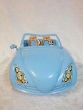 "Barbie Blue Doll Accessory Car 13"" Blue 2007 Mattel"