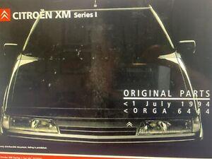 Manual De Recambios Citroen Xm Serie 1