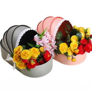 Baby Cradle Flower Box Rose Flower Arrangement Basket Gift Boxes Baby Shower