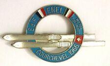Spilla Sci - E.D.F. Enel MotorColumbus - Courchevel 1966