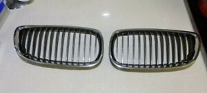 Genuine BMW 3 Series E90 E91 E92 E93 05-13 Kidney Grilles 7157276 & 7157275 OEM