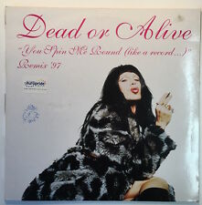 DEAD OR ALIVE - YOU SPIN ME AROUND REMIX 1997 FRANCE FRENCH VINYL LP PETE BURNS