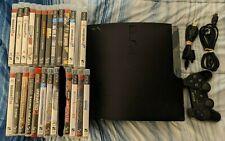 Sony PlayStation 3 - Slim 160GB Black Home Console Bundle
