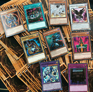 Yu-Gi-Oh! 250 Karten Sammlung | Secret Ultra Super Rare Common | Drache + Magier
