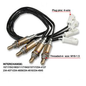 4Pcs New O2 Oxygen Sensor Down/Upstream For 1997-2003 Ford F-150 4.2L 4.6L 5.4L