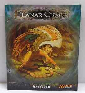 MTG Magic Game Gioco PLAYER'S GUIDE Cards List - PLANAR CHAOS Caos Dimensionale
