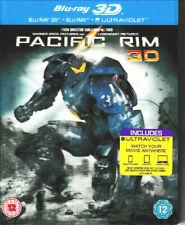 Pacific Borde - 3D Blu Ray + Blu Ray + Ultravioleta - Nuevo Precintado