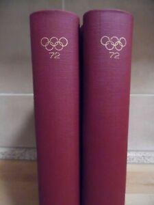 Motiv-Slg. Olympiade 1972 in 2 Bänden auf 132 kpl. befüllten Seiten (689)