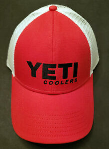 YETI Hat Red/Black/White Discontinued, Hard to Find