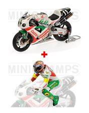 1:12 Minichamps Honda VTR 1000 + Figure Valentino Rossi 8H Suzuka 2000 RARE NEW