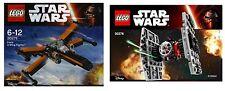 LEGO Star Wars Episode 7 30276 Erste Ordnung Tie Jäger vs. Poe's X-Wing 30278