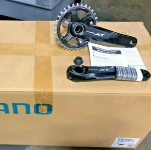BRAND NEW Shimano XT 175mm FC-M8000-B Boost crankset with 32T Dyna-Sys 1 x 11s