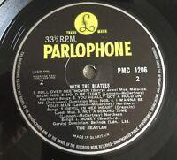 "BEATLES - ""WITH THE BEATLES"" UK MONO 7N/7N RARE PYE PRESSING LP - NEAR MINT"