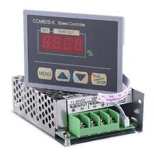 DC 12V-80V 30A Soft Start PWM Motor Speed Controller + LED Digital Display Panel