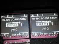 Burr Brown 722 High-Voltage Isolated DC/DC Converter DIP