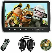 "Rear Car 10"" Tablet-Style Headrest DVD Player Screen USB With hdmi,  hr10c"