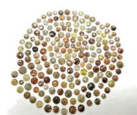 Natural Diamond lot 1 TCW Scoop Mix color 2.5 - 4.5 MM Round Rose cut Low Price