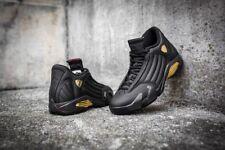 Nike Air Jordan 14 XIV DMP Black Gold Finals Olympic OVO 897563-900 Mens Sz 13