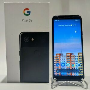 Google Pixel 3a 64GB - Just Black (Unlocked) - Android Smartphone