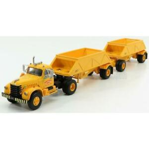 Neo Scale Models Diamond T921 Tractor Truck 3-Assi Armstrong Bros 1977 With Doub