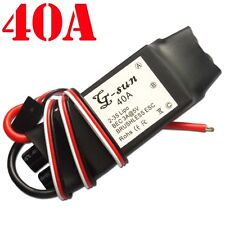 NEW 40A Brushless ESC Motors Speed Controller RC Part for trex 450 Helicopter E