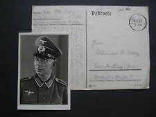 Field Postcard 2. September 1939 with a Portrait