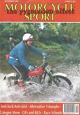 Motorcycle Sport Magazine Dec 1992 – Norman Hyde Hurricane Triumph Trident 900