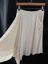 RALPH LAUREN ● size S 8 ● cream white quirky summer skirt womens ladies