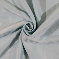 Brushed Back Nightgown Cream Puff Satin Aqua Fabric By The Yard D407