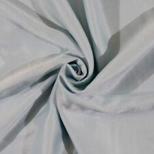 Brushed-Back Nightgown Cream Puff Satin - Aqua - Fabric by the Yard D407.03