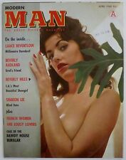 MODERN MAN, GIRLIE MAGAZINE 1960, SEX N' SIN, WRESTLING TIGERS, THUNDERBIKES