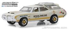 1:64 GreenLight *INDIANAPOLIS 500* 1972 Oldsmobile Vista Cruiser WAGON PACE CAR