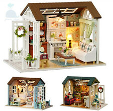 DIY Handcraft Miniature Project My Little Country Lodge 2017 Wooden Dolls House All 3 Kits
