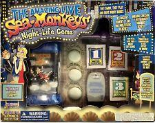 Niob Amazing Live Sea Monkeys Night Life Gems New in Opened Box 67505 2010 New