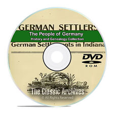 Germany People Cities Towns History and Genealogy 102 Books DVD CD B21