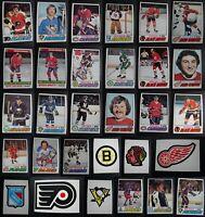 1977-78 O-Pee-Chee OPC Hockey Cards Complete Your Set U You Pick List 201-396