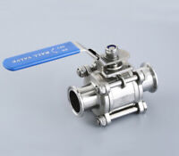 φ38MM 1.5'' Sanitary Ball Valve - Tri Clamp Clover Stainless Steel 304