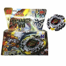Japanese Beyblade BB114 Variares 4D Metal Fusion System + Light Launcher Set Toy