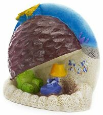 Spongebob Aquarium Ornament Penn Patrick S Rock Home Plax Squarepants Fish tank