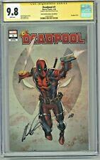 Deadpool #1 CGC 9.8 SS Rob Liefeld Creations .Com Edition Exclusive Variant 1000