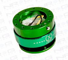 NRG 2.0 BALL LOCK GEN 2.0 QUICK RELEASE HUB 6-HOLE STEERING WHEEL GREEN