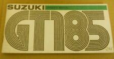 Suzuki  GT185M Owners Manual