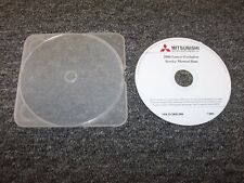 2006 Mitsubishi Lancer Evolution Evo Shop Service Repair Manual DVD SE RS IX MR