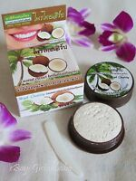 25g Natural Coconut Oil Toothpaste Herbal, Clove, Mint, Teeth Whitening